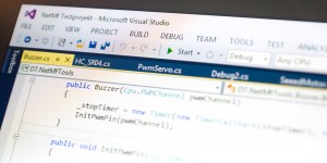 Screenshot Visual Studio