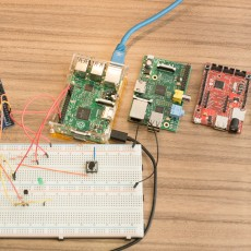 Reaktionszeit-Vergleich: Raspberry Pi 2 Windows 10 vs Mono vs Python vs .Net Micro Framework vs Arduino