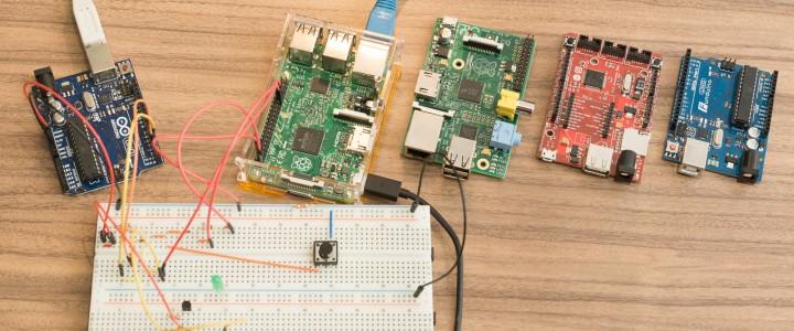 Reaktionszeit-Vergleich: Raspberry Pi 2 Windows 10 vs Mono vs Python vs .Net Micro Framework vs Arduino